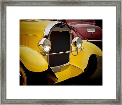 Hot Rod Fords Framed Print by Ron Roberts