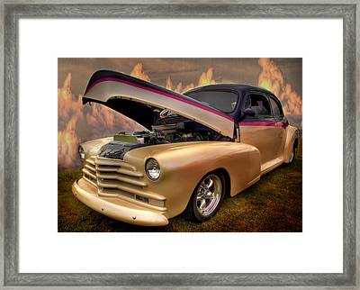 Hot Rod From Heaven Framed Print by Thomas Young