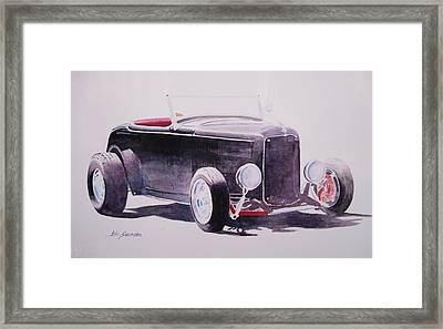 Hot Rod Framed Print by John  Svenson