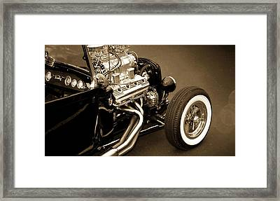 Framed Print featuring the photograph Hot Rod Power  by Aaron Berg