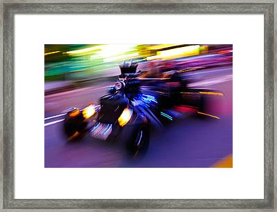 Hot Rod Warp Framed Print by Phil 'motography' Clark