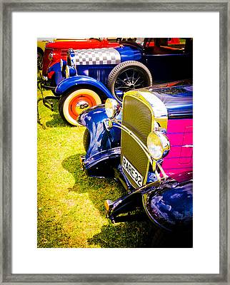 Hot Rods Framed Print by Phil 'motography' Clark