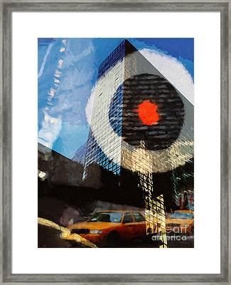 Hot Spot Framed Print by Lutz Baar