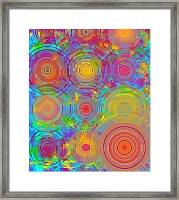 Hot Spots Framed Print by  Artcetera By      LizMac