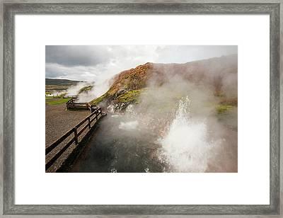 Hot Spring Framed Print