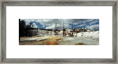 Hot Spring On A Landscape, Angel Framed Print by Panoramic Images