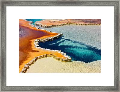 Hot Spring Perspective Framed Print