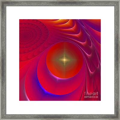 Hot Star Framed Print