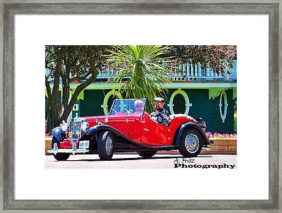 Framed Print featuring the photograph Hot Summer Day... by Al Fritz