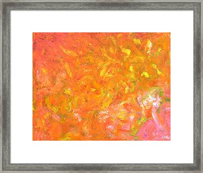 Hot Summer Framed Print