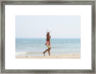 Hot Summer Framed Print by Herbert Seiffert