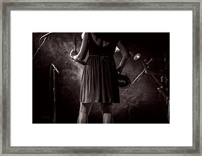 Hot Summer Night Framed Print by Bob Orsillo