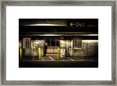 Hot Summer Night Out Framed Print by Bob Orsillo