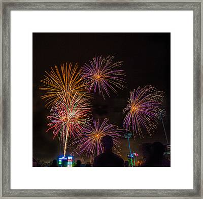Hot Summer Nights  Framed Print