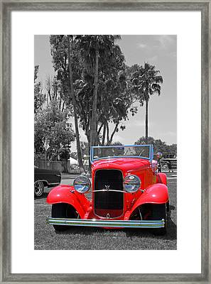 Framed Print featuring the photograph Hot V8 by Shoal Hollingsworth