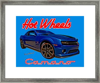 Hot Wheels Camaro Framed Print