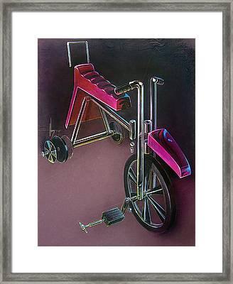 Hot Wheels Framed Print by Jack Adams