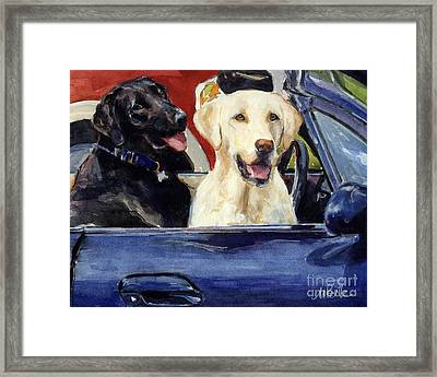 Hot Wheels Framed Print by Molly Poole