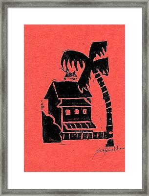 Hotel 2 Framed Print by Swafeha Khan