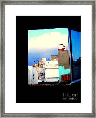 Framed Print featuring the photograph Hotel Afrika-tarif Espana by Robert Riordan