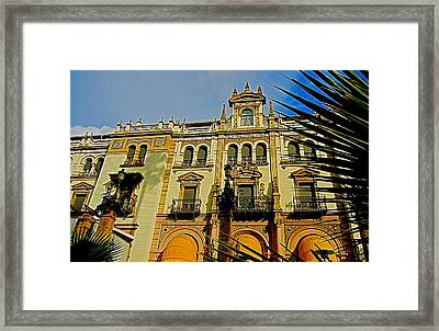 Hotel Alfonso Xiii - Seville Framed Print by Juergen Weiss