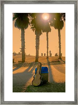 Hotel California Framed Print by Peter Tellone