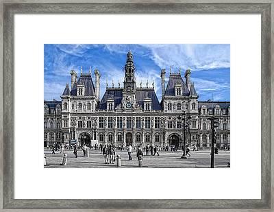 Hotel De Ville Framed Print by Joachim G Pinkawa