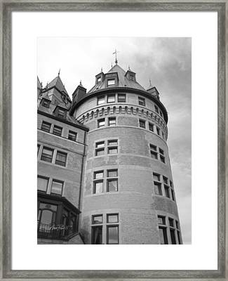Hotel Frontenac Quebec City Framed Print