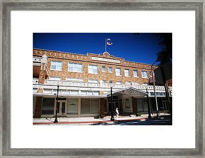 Hotel Jacaranda Framed Print