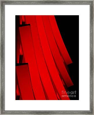 Hotel Ledges Of A New Orleans Louisiana Hotel #1 Framed Print