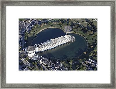 Hotel Miramar Crouesty, Arzon Framed Print