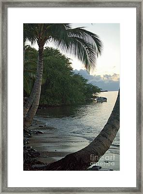 Hotel Molokai Beach Framed Print