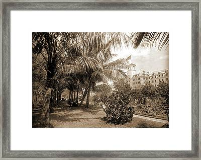 Hotel Royal Poinciana, Lake Worth, Jackson, William Henry Framed Print