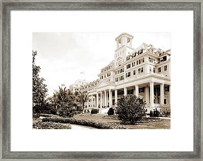 Hotel Royal Poinciana, Palm Beach, Fla, Resorts Framed Print by Litz Collection