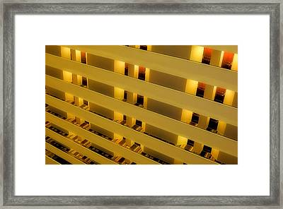 Hotel08 Framed Print by Tony Grider