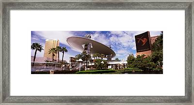 Hotels In A City, Trump Hotel Las Framed Print by Panoramic Images