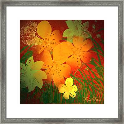 Hothouse Framed Print by Kylie Sabra