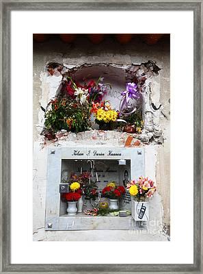 Hotline To The Afterlife 1 Framed Print by James Brunker