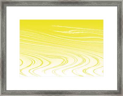 Hotness In The Desert Framed Print by Lali Kacharava