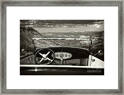 Hotrod Dream Framed Print