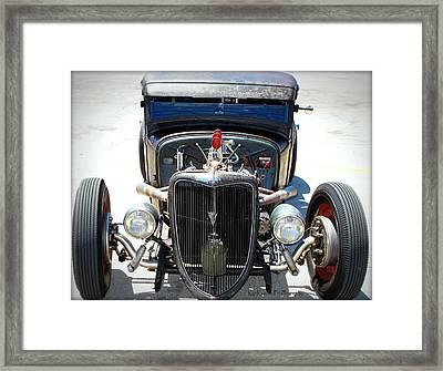 Hotrod Thunder Framed Print by Kip Krause