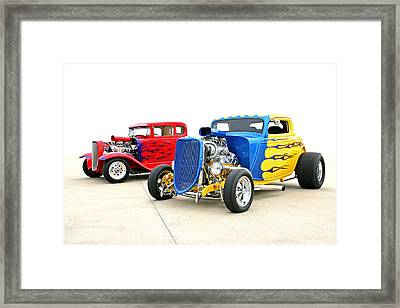 Framed Print featuring the photograph Hotties by Christopher McKenzie