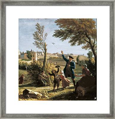 Houasse, Michel-ange 1680-1730 Framed Print by Everett