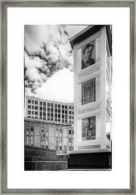 Houdini Plaza Framed Print by Thomas Young