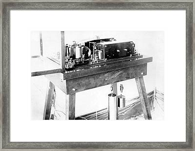 Hough's Printing Chronograph Framed Print by Royal Astronomical Society