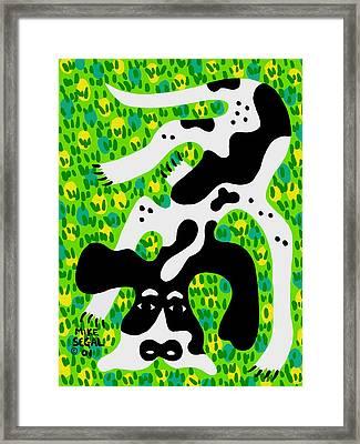 Houndog Framed Print by Mike Segal