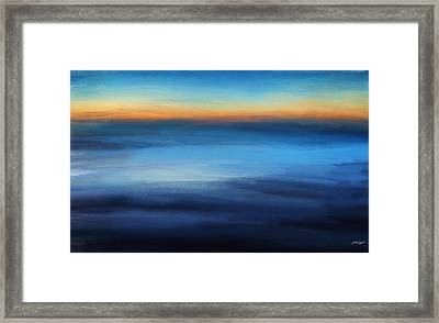 Hour Of Dreams Framed Print by Lourry Legarde