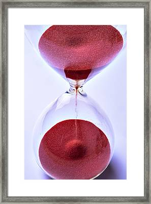 Hourglass Framed Print by Garry Gay