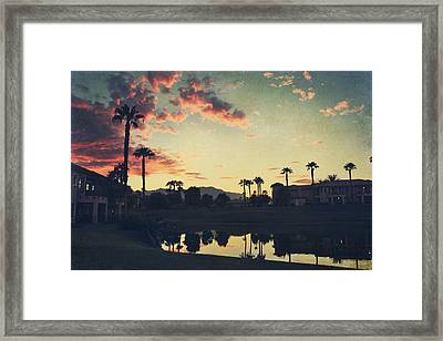 Hours Pass Framed Print