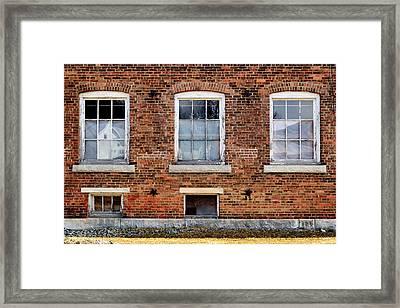 Housatonic Mill No. 1 Framed Print by Geoffrey Coelho